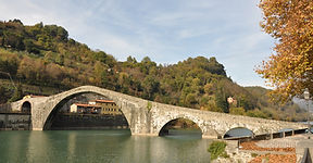 Ponte del Diavolo Lucca, Toscana