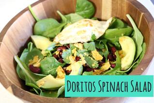 Doritos Spinach Salad