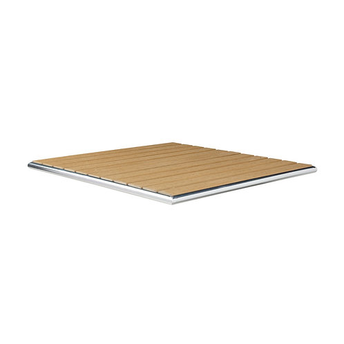 Teak Wood Square Outdoor Top