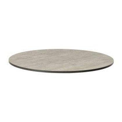 Cement Round Laminate Top