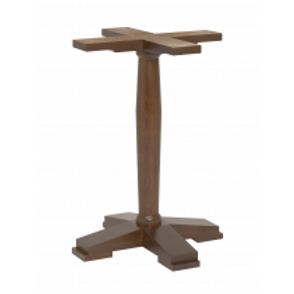 Angle Wooden Table Base