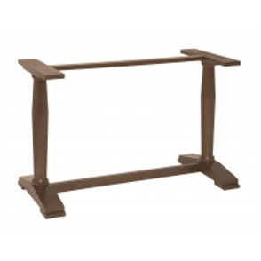 Angle Twin Wooden Table Base