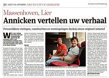 Annicken vertellen uw verhaal, Annick Beirinckx, Annick De Smet, Jouw verhaal