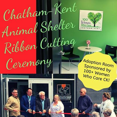 Chatham-Kent Animal Shelter  Ribbon Cutt