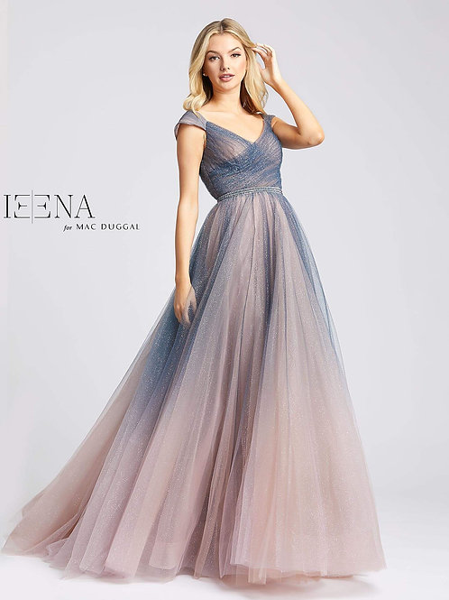 Charcoal Ombre Ballgown