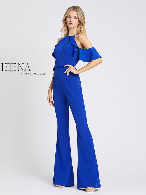 Ruffled Off The Shoulder Jumpsuit