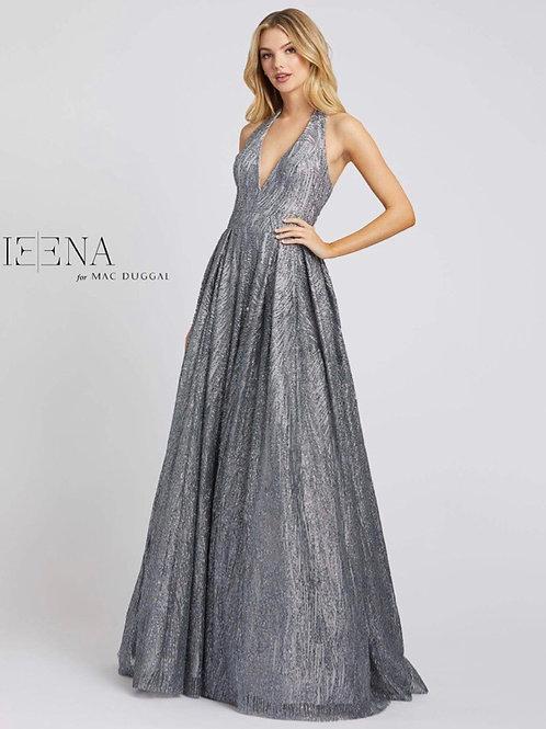 Platinum Sequin Ballgown