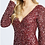 Thumbnail: Sparkling Long Sleeve Gown V-Neck