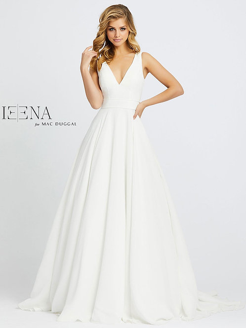 V-Neck Ballgown With Train