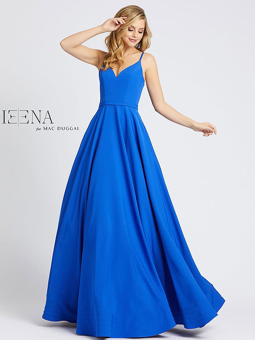 V-Neck Ballgown In Red, Blue, Black, or White