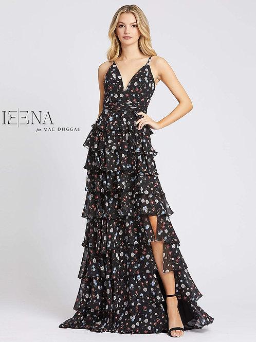 Black Floral Gown                             Size 0-14