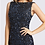 Thumbnail: Fully Sequin Gown High Neck and Train