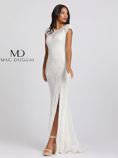 White Gown with embroidery