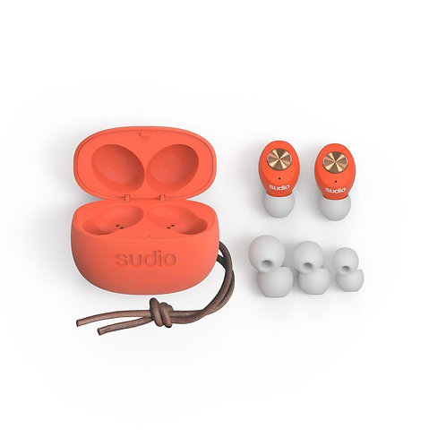 SUDIO - Tolv Truly Wireless Earbuds - Coral