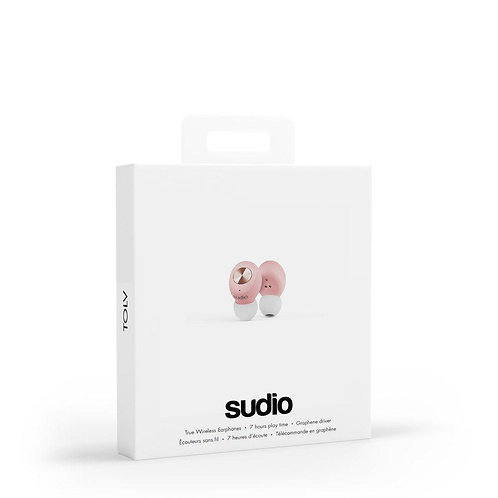 SUDIO - Tolv Truly Wireless Earbuds -  Pink