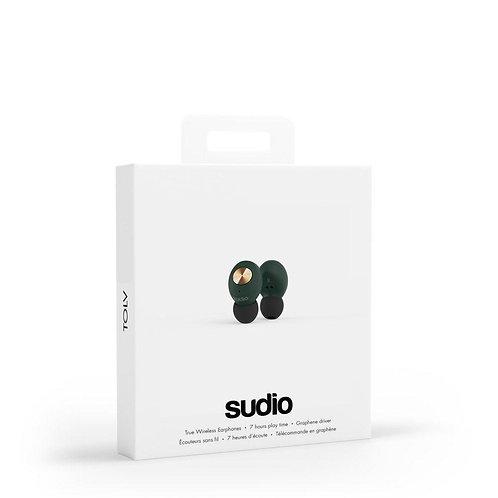 SUDIO- Tolv Truly Wireless Earbuds - Green