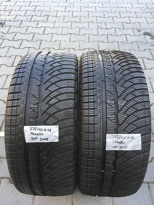 2x 235/40 R18 95 V  Winterreifen Michelin
