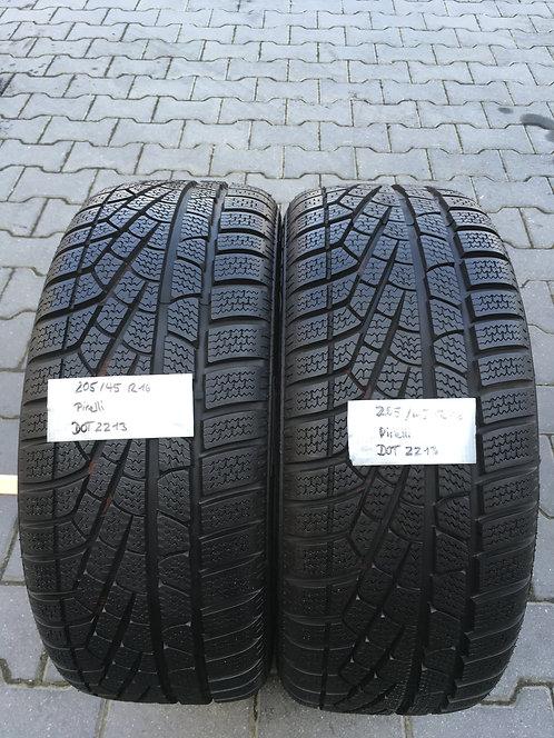 2x 205/45 R16 87 H  Winterreifen Pirelli