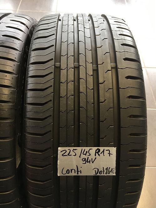 2x 225/45 R17 V XL 94 V Sommerreifen Continental