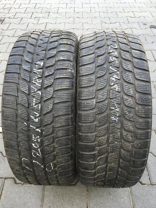 2x 205/45 R17 84 V   Winterreifen Bridgestone Runflat