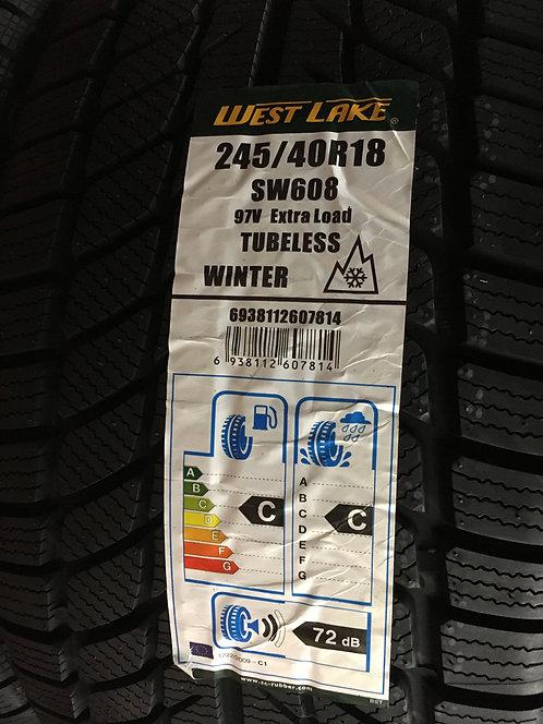 2x 245/40 R18 97 V  Winterreifen Westlake