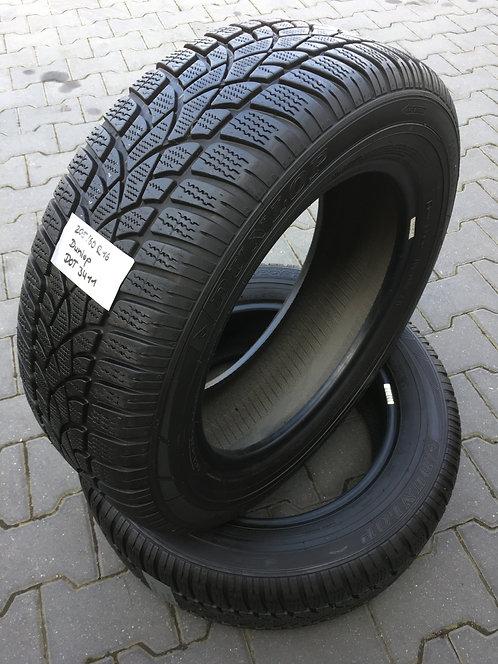 4x 205/60 R16 92 H  Winterreifen Dunlop