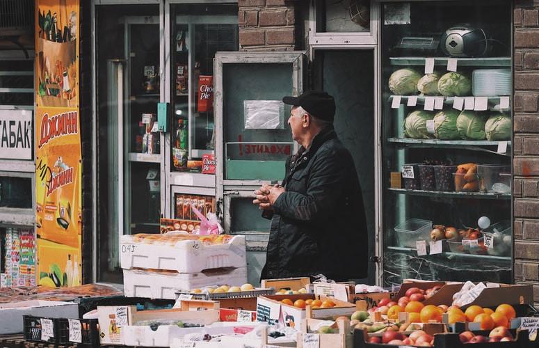 vendedor negociando