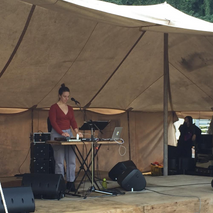 Performing in Zushi, Japan at Ikego Forest Music Festival. 2018