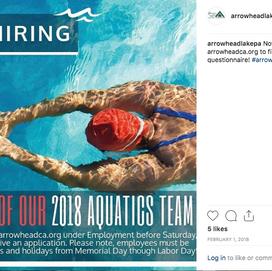 Instagram Aquatics Post