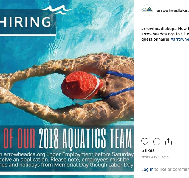 Instagram Aquatics Post