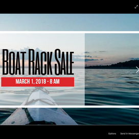 Boat Rack Sale Post