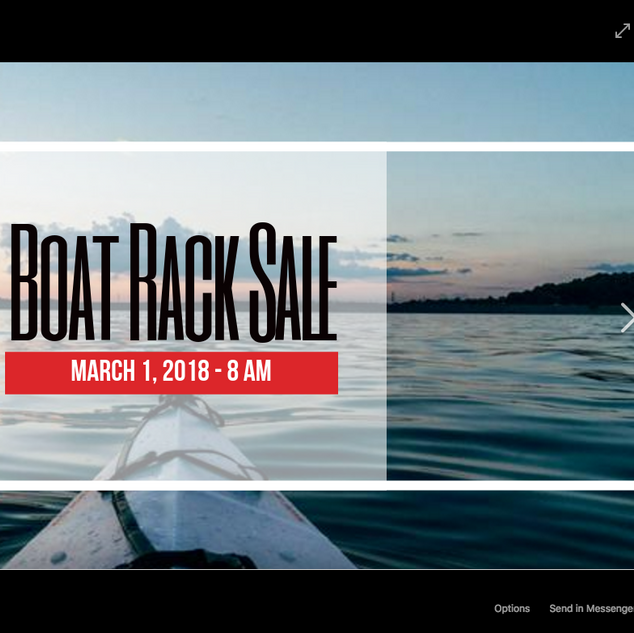 Boat Rack Sale Post