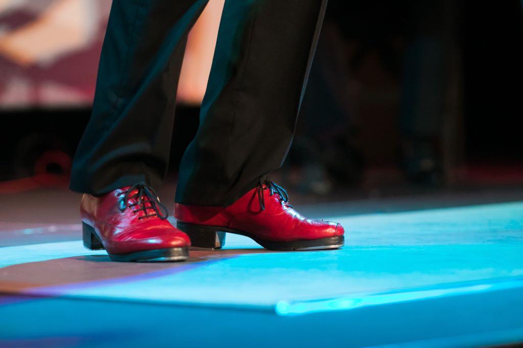 zapatos rojos sincopados claquebilbao