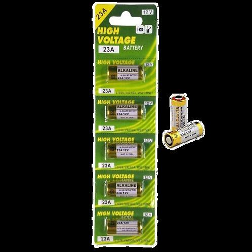 Pilha 23A Bateria 12v cartela com 5 unidades