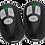 Thumbnail: 02 Controles RCG 433,92mhz com Bateria