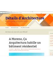 Détails d'Architecture Blog Francia