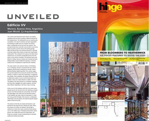 Revista Hinge -Hong Kong