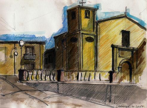 Plaza - tecnica mixta - Calabria 2008