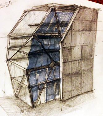 Piel de vidrio - Lapiz 2013