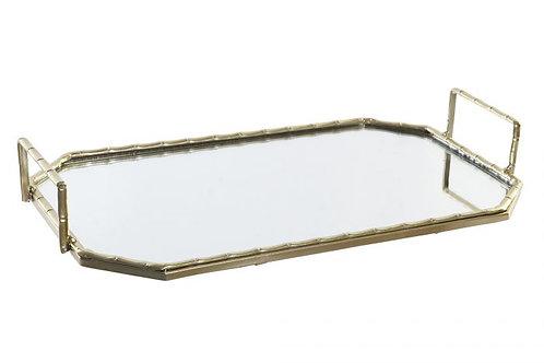 Bandeja mirror con asas