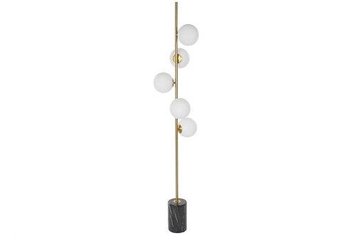 Lámpara de pie 5 globos