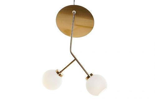Lámpara de techo contempo en cristal
