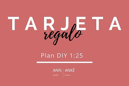 Regala Plan DIY 1:25