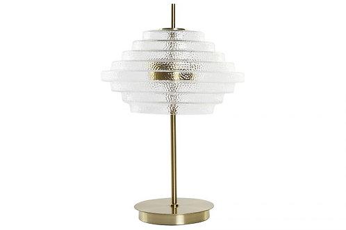 Lámpara Gatsby en metal dorado