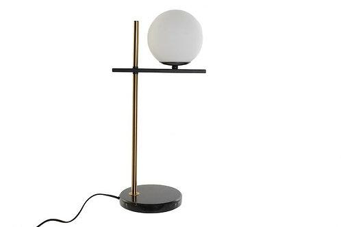 Lámpara Ista con mármol negro