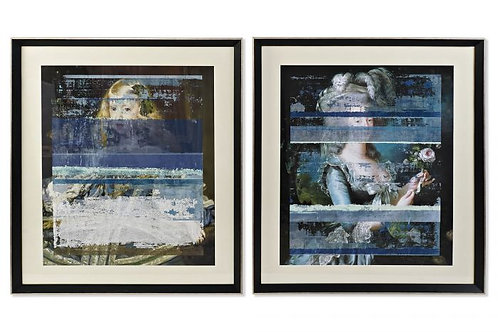 Set de 2 cuadros arte