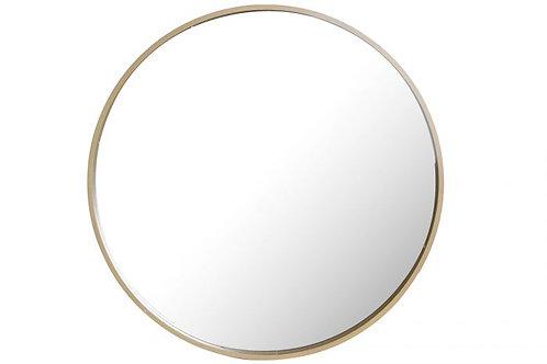 Espejo redondo natural