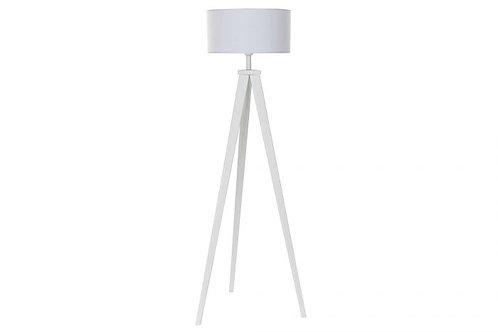 Lámpara de pie tripode en madera