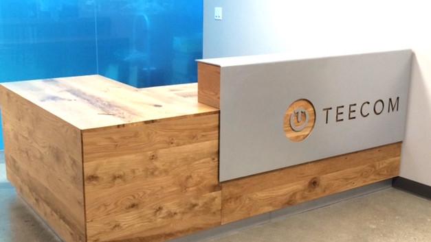 Teecom Reception Desk