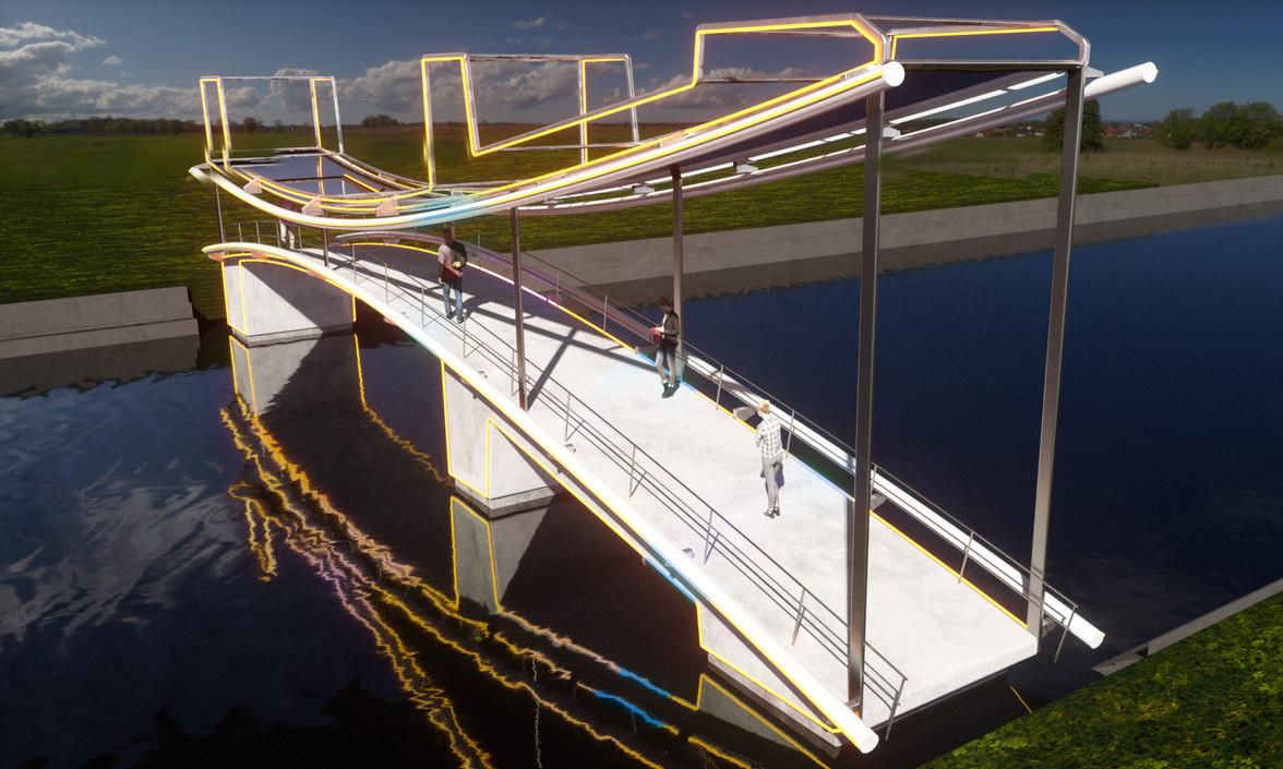 Disrupt, proposal for Amsterdam Light Festival